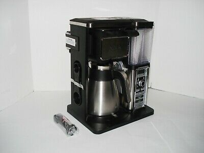 Ninja Automatic IQ Coffee Frother Bar Brewer Stainless Thermal Carafe CF097