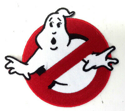 """GHOSTBUSTERS No Ghost Logo Screen Accurate 4"""" Wide  Deluxe Costume/Uniform Patch"""
