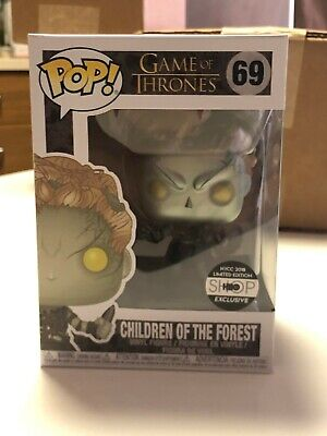 Funko Pop #69 Game Of Thrones Metallic Children Of The Forest HBO Soft Protector