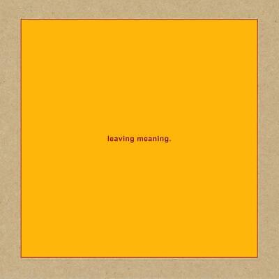Swans 'Leaving Meaning' 2 CD SET  NEW(25THOCT)