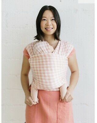 Solly Baby Wrap Pink Gingham