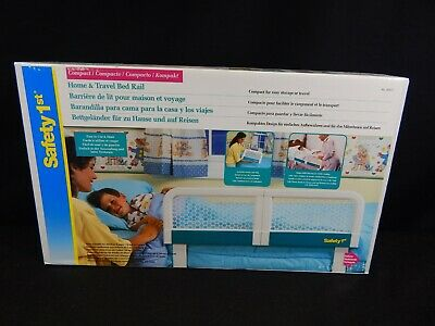 Safety 1st Adjustable Portable Bed Rail¦Kid's Cot Side Barrier Protection new