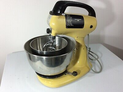 Hamilton Beach Scovill vintage electric stand mixer Model 60 1950s Tested. Works