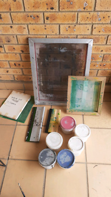 Screen printing and art supplies
