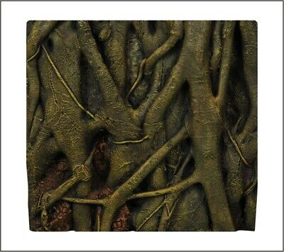 """Amazon Roots//Gnarly Trunk Wall 24/"""" Aquarium Background"""