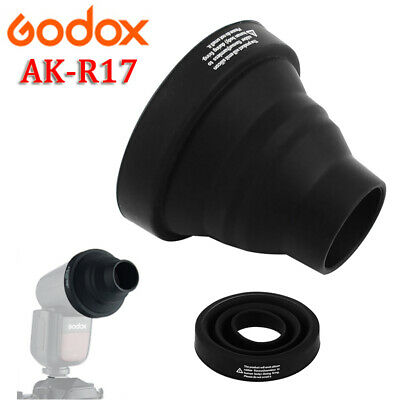 Godox AK-R17 Snoot Light Beam Tube For Godox V1 H200R Round Flash Head AD200 Pro