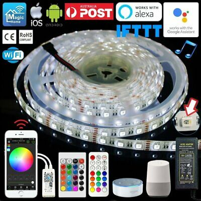 1M-10M 4 in 1 RGBW LED Waterproof Strip Light Smartphone Wifi + IR/RF Controller