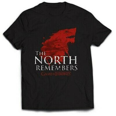 Game Of Thrones - The North Remembers (T-Shirt Unisex Tg. S) 0803341510838 Merch