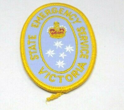 State Emergency Service Ses Victoria Patch / Badge Collectable