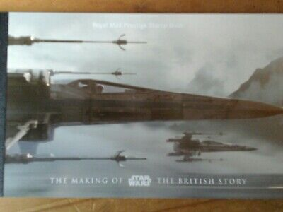 2015 Dy15 The Making Of Star Wars - Prestige Stamp Book Mnh