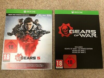 Xbox Gears Of War 5 + GOW 1, 2, 3, 4 Download  Xbox one