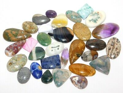 Mix Stone Natural Cabochon Loose Gemstone Lot 571Cts. 37772