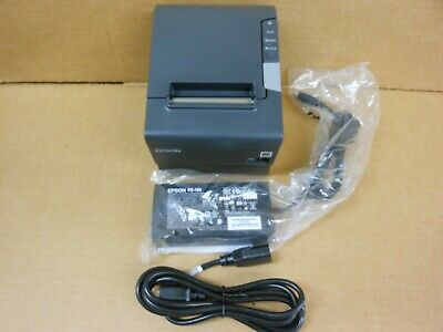 Epson TM-T88V M244A Thermal printer UB-E03 ETHERNET with new ps180 power supply