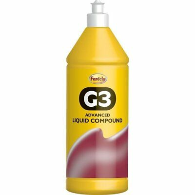 Farecla G3 Advanced Liquid Regular Cut Cutting Polishing Compound 1L Litre