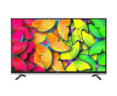 New 49 Inch LED LCD 4K Smart TV Ultra HD UHD HDR Slim Netflix Television Black