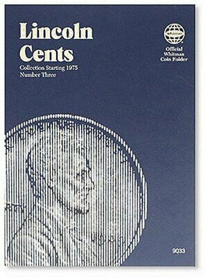 Whitman Coin Folder: Lincoln Cents No. 3 : Collection Starting 1975 by...