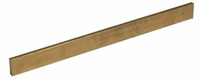 "Brass Flat Stock  3/16"" x 1"" x 1ft   360 Solid Rectangle Strip  Mil Finish"