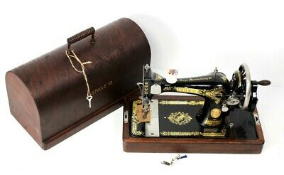 Antique Singer 28K Hand Crank Sewing Machine c1930 - FREE Delivery [5531]