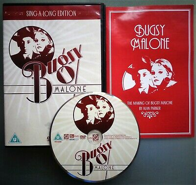 Bugsy Malone DVD Sing Along Edition - Scott Baio Jodie Foster