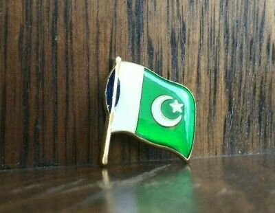 PAKISTAN Army NATIONAL COUNTRY FLAG LAPEL / PIN BADGE HIGH QUALITY