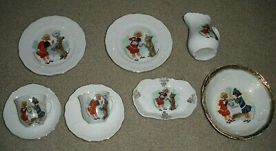 Vintage Buster Brown Shoes Advertising Collection China / Dishes