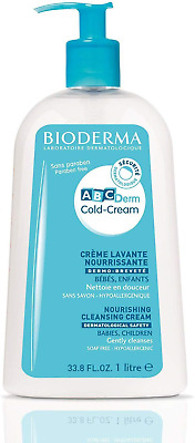 Bioderma Abcderm Nourishing Cleansing Cold Cream 1000ml