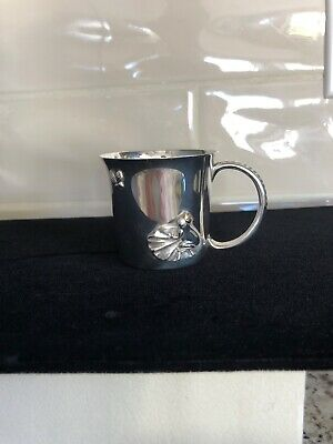 David Yurman RARE sterling and 18kt gold Babys Cup