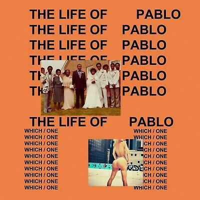 """Kanye West The Life Of Pablo poster home decor photo print 16"""", 20"""", 24"""" sizes"""