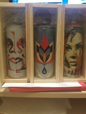 Obey Shepard Fairey x Montana Spray Can Set Beyond The Streets Limited Edition