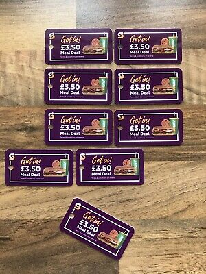 Subway Meal Deal 3.50 Key Ring Card