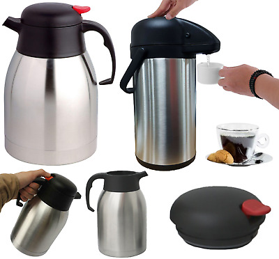 Stainless Steel Double Wall Isolating Thermos Flask & Airpot Vacuum Flask Pump