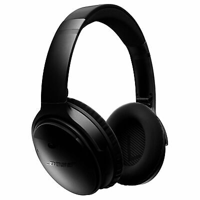 Bose QuietComfort 35 Wireless Noise Cancelling Over the Ear Headphones - Black