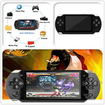 "8GB Handheld PSP Game Console Player Built-in Games 4.3"" Portable Consoles"