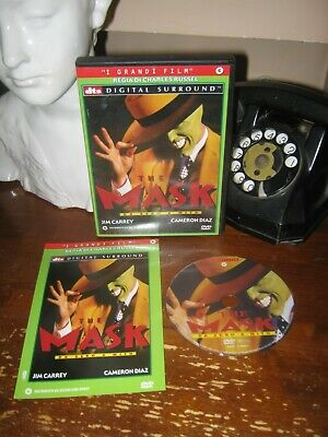 The Mask da Zero a Mito DVD Jim Carrey Cameron Diaz