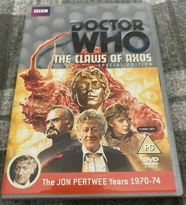Doctor Who DVD The Claws Of Axos SPECIAL EDITION (2012, 2-Disc Set) bbc
