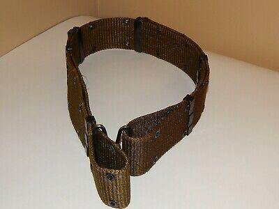 Vintage M1956 US MILITARY PISTOL BELT, INDIVIDUAL, EQUIPMENT Size: 30 inch