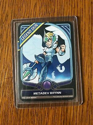 Brawlhalla Metadev Brynn Legend Promo Card Pax West East 2017. Legend Skin.