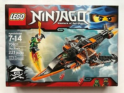 LEGO NEW Ninjago 70601 Sky Shark INSTRUCTIONS STICKERS ONLY Lot Book Pirate Jet