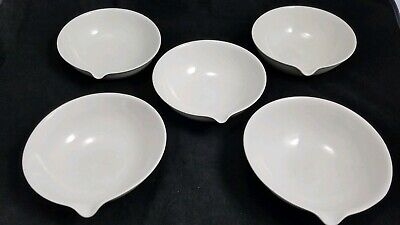 Vintage Coors USA Porcelain Evaporating Lab Bowls Dishes Set of 5