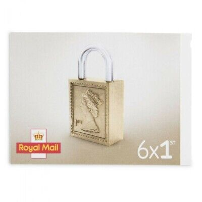 6 x 1st First Class Red Royal Mail ✓ Brand New ✓ Genuine Barcode ✓ Free Delivery