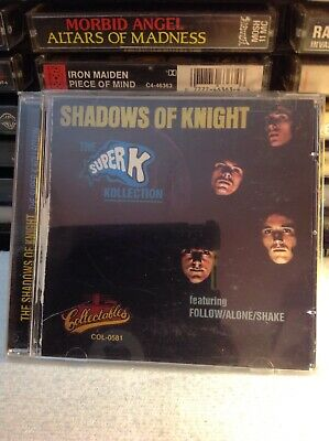 Shadows Of Knight The Super K Kollection Cd Rare Psychedelic OOP Collectible