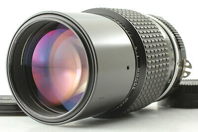 【MINT】Nikon Nikkor Ai 200mm f/4 Manual Focus Telephoto Lens from Japan C989J