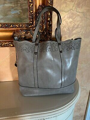 Borsa da donna in vera pelle. Shopper, Bag, Spalla.