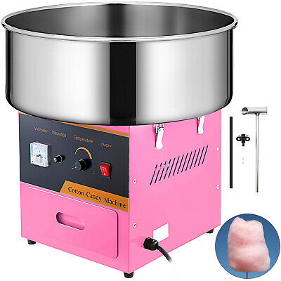 Electric Cotton Candy Machine Sugar Fairy Floss Maker Commercial Party Home DIY