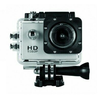 Action Camera HD 1080p 2Inch (Sj50) Set with accessories for Travel Sport-Silver