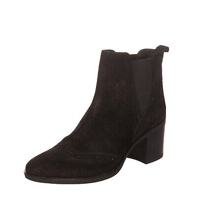 GEOX D NYDAME A Womens Sneaker Boots Leather Wedged Heeled