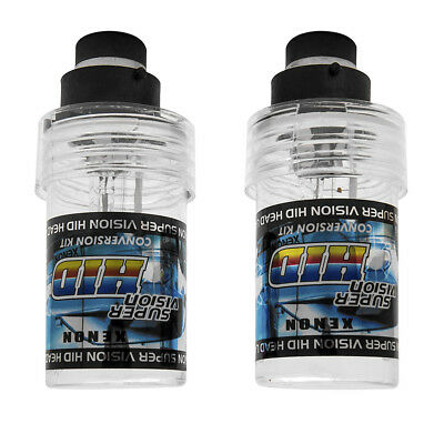 Pair D2S D2R HID Xenon Factory Replacement Headlight Bulbs KIT 35W Pure white