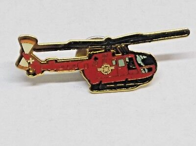 Swiss Air Ambulance Helicopter Pin /  Badge