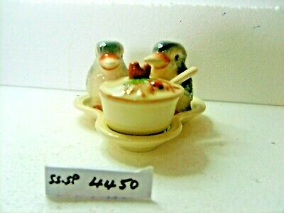 kookaburra salt pepper mustard salt and pepper shakers