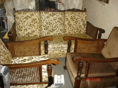 Jacobean lounge and 2 chairs